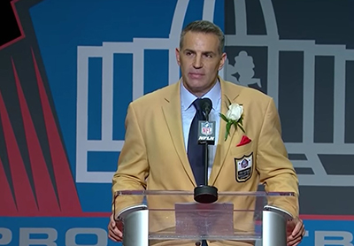 Kurt Warner induction