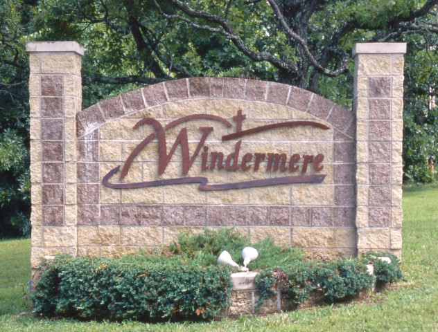 Windermere sign