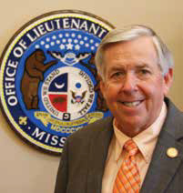 Lt Governor Mike Parson