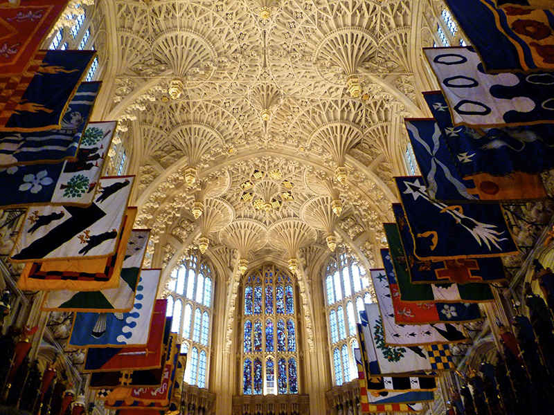 Henry VII's Lady Chapel in Westminster Abbey in London. Photo courtesy of Creative Commons/Herry Lawford