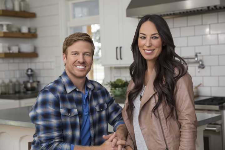 "Chip and Joanna Gaines, hosts of HGTV's ""Fixer Upper."" Photo courtesy of HGTV"