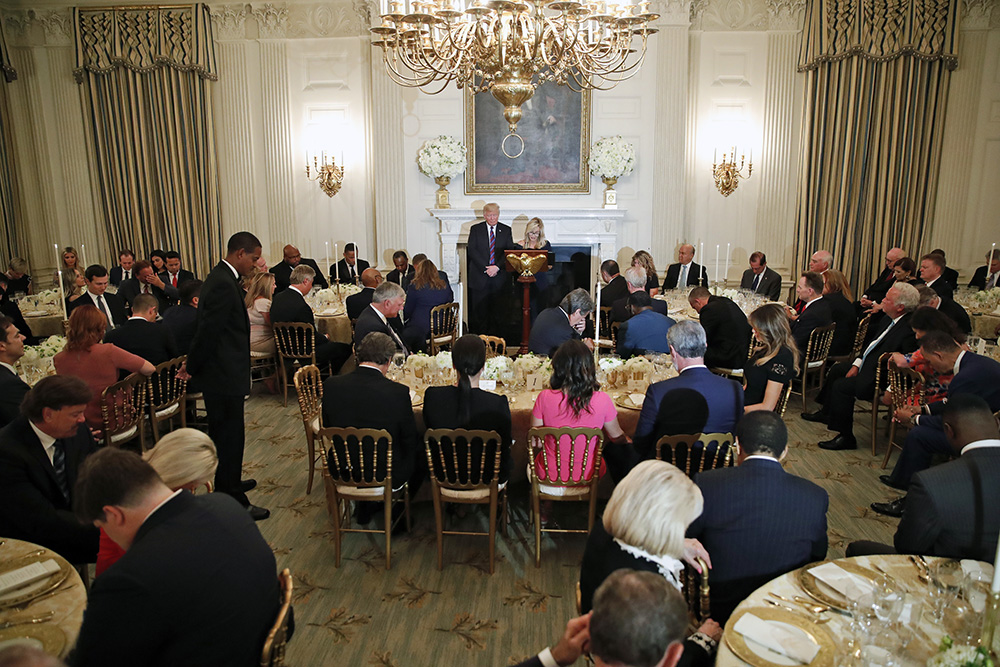 The White House State Dining Room
