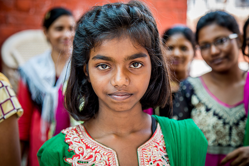 A Christian girl in India, 2017. (Photo: Open Doors USA)