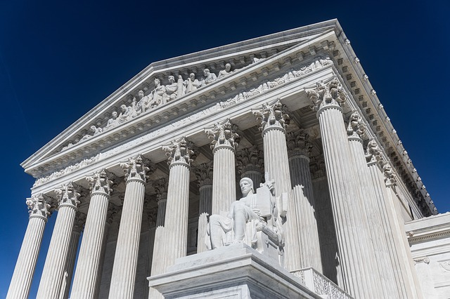 At the Supreme Court on Tuesday, Dec. 5, 2017, in Washington. oral arguments were heard in a free speech case rooted in the religious convictions of the plaintiff. (Pixabay)